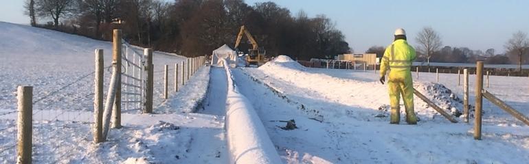 Chalbury: Water mains renewal